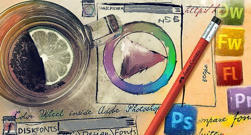 نقاط مهمة للمصممين المبتدئين الجزء الثاني