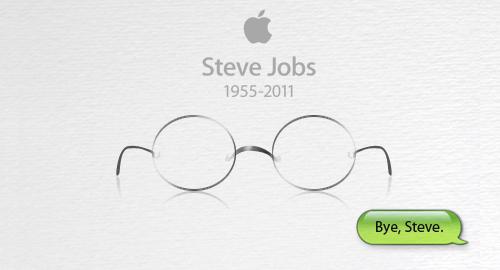 ستيف جوبز وداعاً
